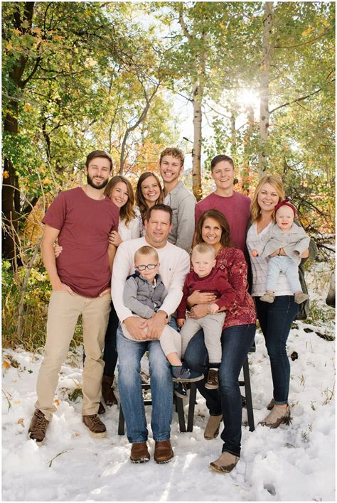family picture color ideas squaw peak provo utah extended family pictures
