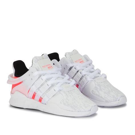 white kid shoes adidas eqt support adv white kid s shoes