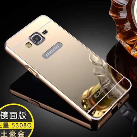 Limited Samsung Grand Neo Bumper Plat Mirror Backcase Hardcase aliexpress buy gold plated aluminum frame mirror back fundas carcasa coque cover for