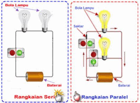 artikel membuat rangkaian listrik paralel praktek ipa kelas 6 sd membuat rangkaian seri pararel