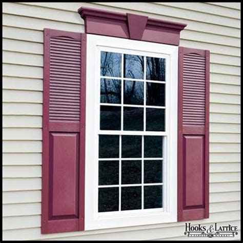 Vinyl Door Surround Window Headers Window Headers Create Curb Appeal And Glam Home Exteriors