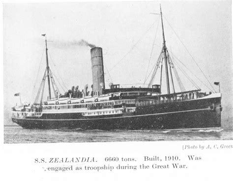 ss zealandia 1910 - Ship Zealandia