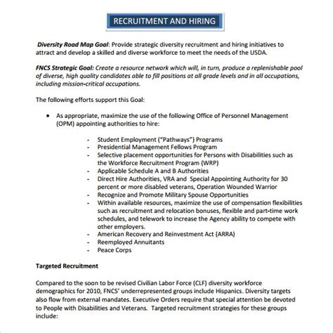 recruitment strategies template hatch urbanskript co