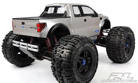 pro    ford   svt raptor clear body  monster truck