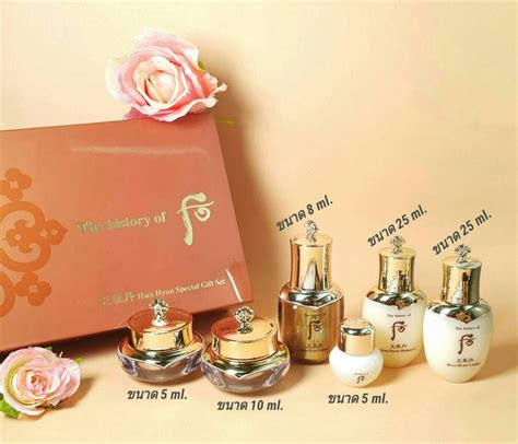 The History Of Whoo Hwa Hyun Special Gift Set Sle Kit 3 Items the history of whoo cheongidan hwa hyun special gift set 6 items โสม ผงหยก ผงเขากวางอ อน