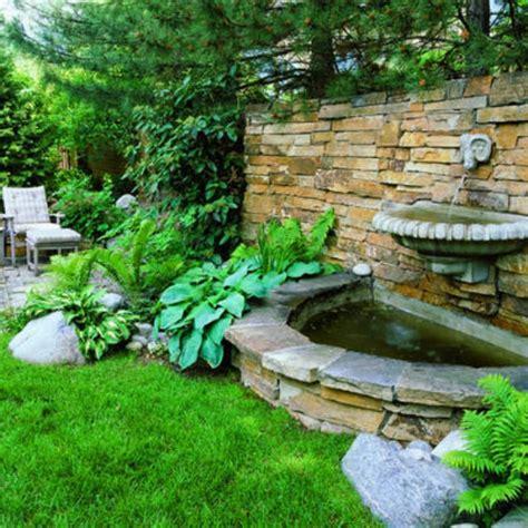 yard fountains garden fountains ideas splashy wall