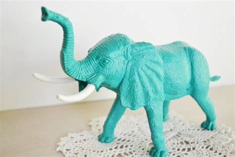 turquoise elephant elephants kick