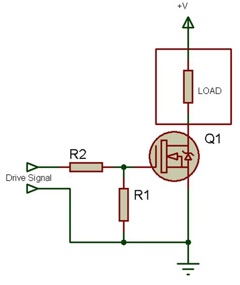 transistor fet switch tahmid s n channel mosfet high side drive when why and how