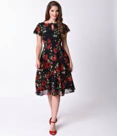 1940s Plus Size Fashion Dresses