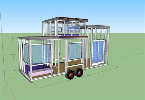 tiny home on wheels plans tiny house on wheels plans new years pinterest
