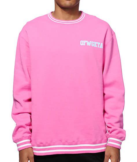 Jaket Golfwang Sweater Golf Wang Crewneck Ofwgkta 1 future ofwgkta crew neck sweatshirt zumiez