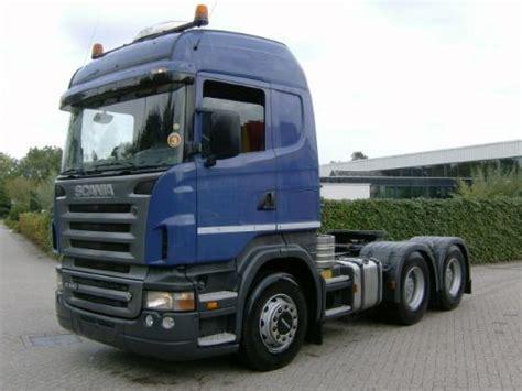 scania heavy haulage tractor r 580 la 6x4 hha tractor unit