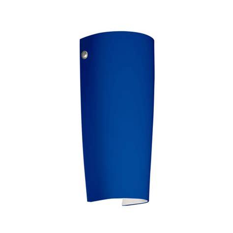 Blue Wall Sconce series 7041 cobalt blue matte wall sconce besa lighting