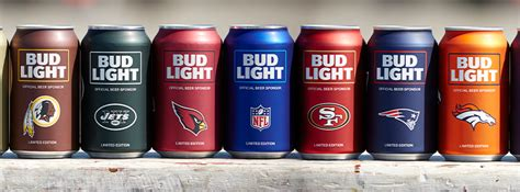 vikings bud light can brandchannel myteamcan bud light reveals minimal team
