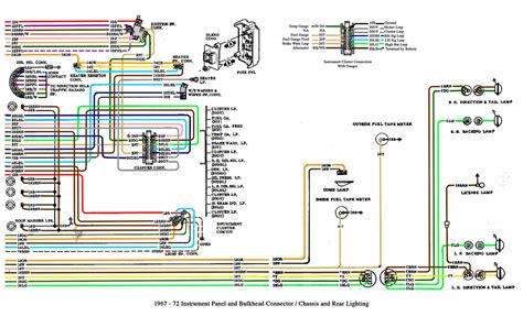 chevy truck cab  chassis wiring    gm