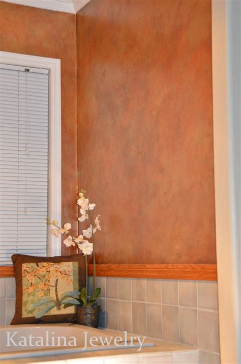 copper walls katalina jewelry aged copper wall treatment