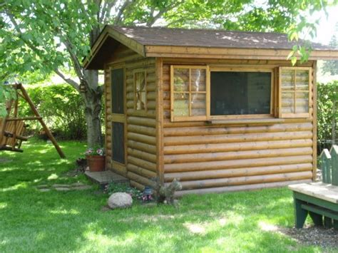 backyard log cabin 97 best guest house images on pinterest