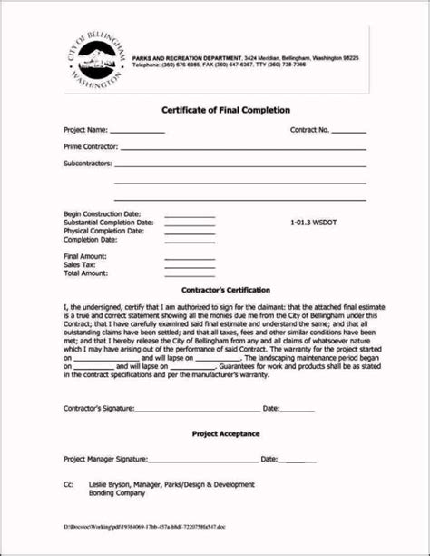 jct practical completion certificate template riba practical completion certificate template