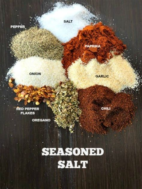 diy seasoning salt best 25 the salt ideas on