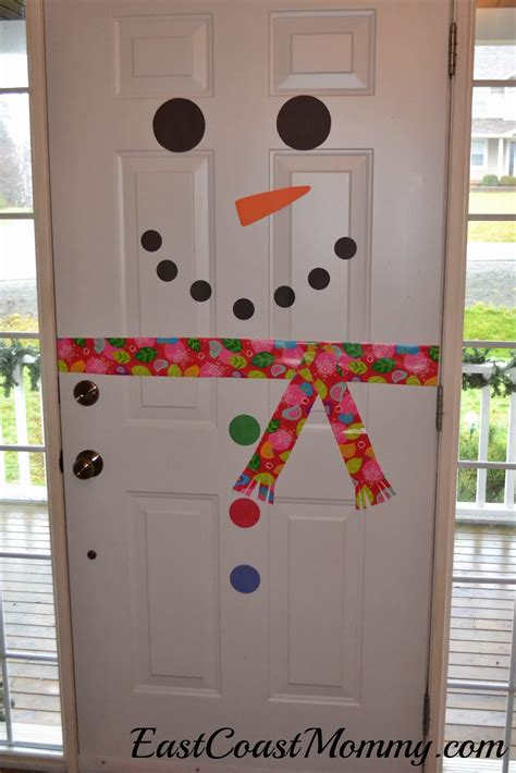 Snowman Door Decorations by East Coast Snowman Door