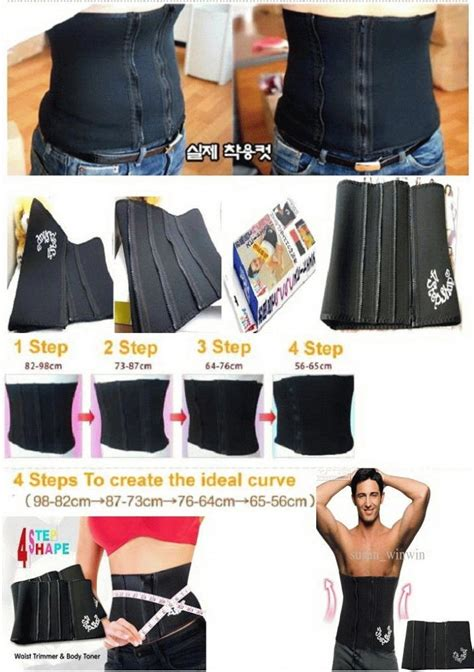 Original Slimming Korset Langsing Instant 1 buy 4 step shape slimming belt korset 4 step pelangsing