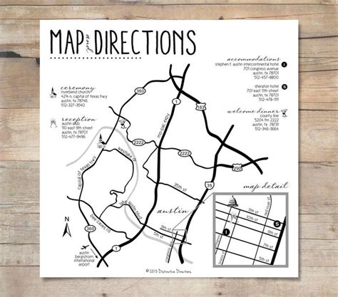 free wedding directions card template 25 best ideas about wedding direction maps on