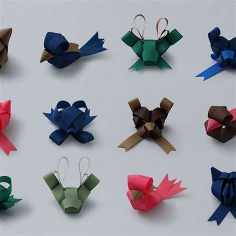 Origami With Ribbon - ribbon origami amusing planet