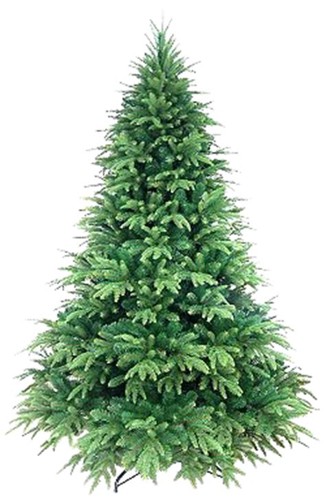 artificial christmas tree transparent
