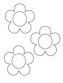 flower templates free early play templates mothers day flower templates and