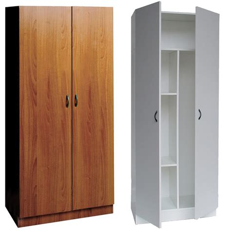 armadio portascope in legno armadio 2 ante 5 ripiani piu portascope valsecchi s p a