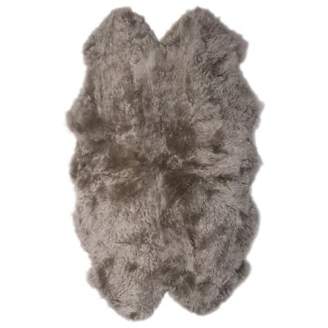 veruca modern pebble sheepskin 4 pelt fur rug kathy kuo home