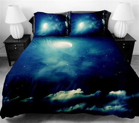 best cool bed sheets these galaxy beddings will let you sleep among the stars