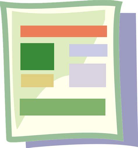 Software Design Dokument Vorlage kostenlose vektorgrafik dokument vorlage layout design