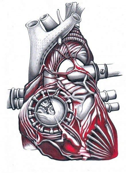 mechanical heart tattoo designs mechanical designs