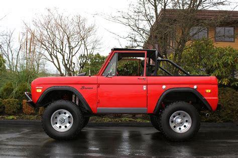 High Prifile Set Jeep Bronco Ford 1971 ford bronco custom suv 138821