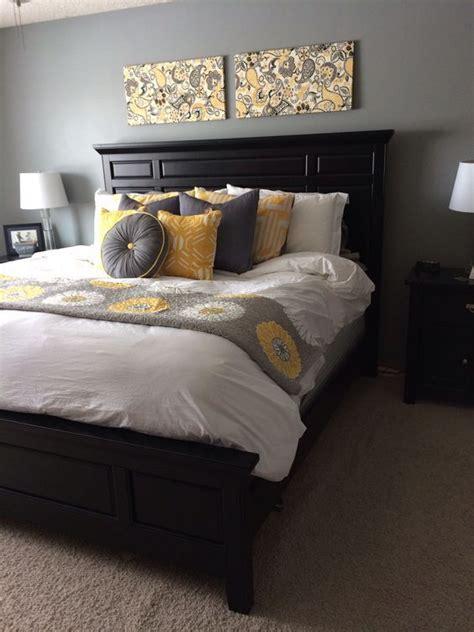 grey  yellow bedroom designs  amaze  bedroom