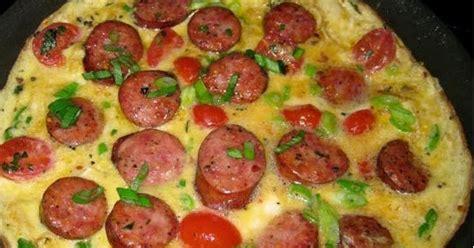 membuat omelet sosis resep masakan indonesia resep omelet sosis keju