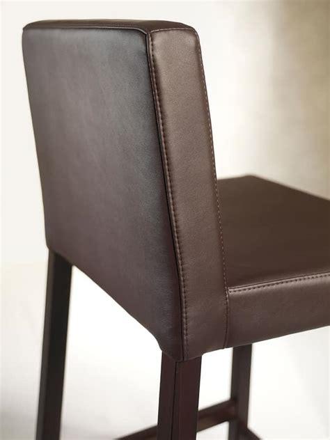 sgabelli imbottiti con schienale sgabello in legno con seduta e schienale imbottiti