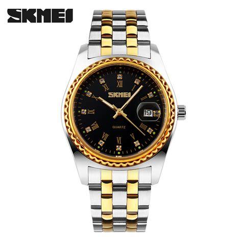 Jam Tangan Analog Skmei skmei jam tangan analog pria 9098cs black