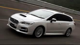 C And S Subaru Subaru Levorg Wagon Concept Hits The Track