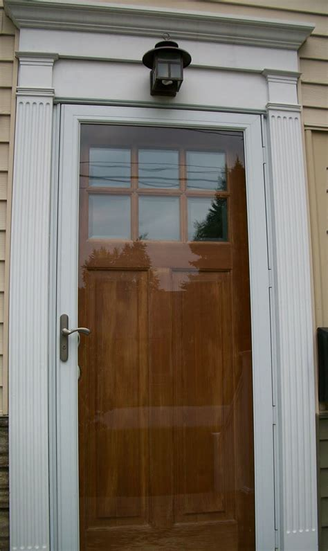 Exterior Door Moulding 17 Best Images About Entry Door Ideas On Pinterest Colors Metal Screen Doors And Doors