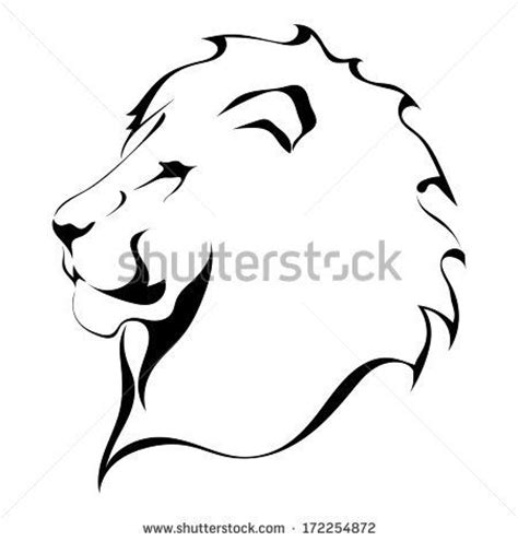 lion tattoo logo 23 best icons images on pinterest silhouettes lion and