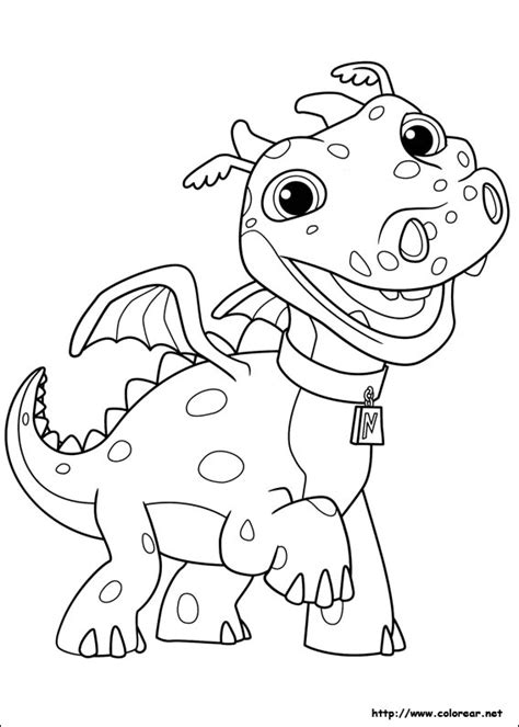 Nick Jr Wallykazam Coloring Pages | free coloring pages of wallykazam