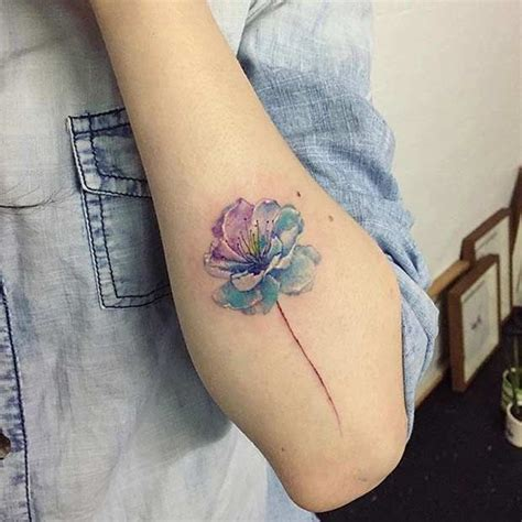 watercolor tattoo last best 25 watercolor foot ideas on
