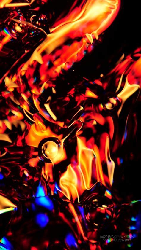 wallpaper merah emas iphone 6 latar belakang abstrak iphone 6 gambar