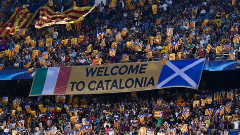 barcelona independence tensions rising in catalunya but barcelona real madrid