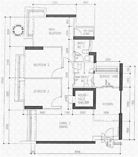 hdb floor plans floor plans for clementi avenue 1 hdb details srx property