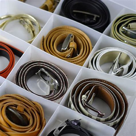 Belt Drawer by How To Neatly Store And Organize Your Scarves And Belts