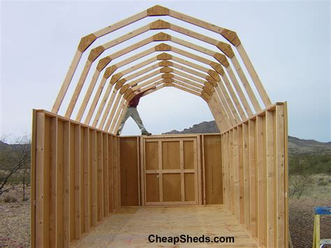 how to build a barn style roof tall gambrel barn style sheds