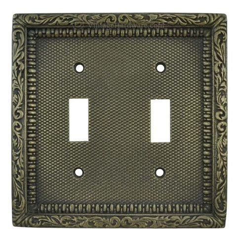 victorian light switch covers vintage hardware lighting victorian decorative double